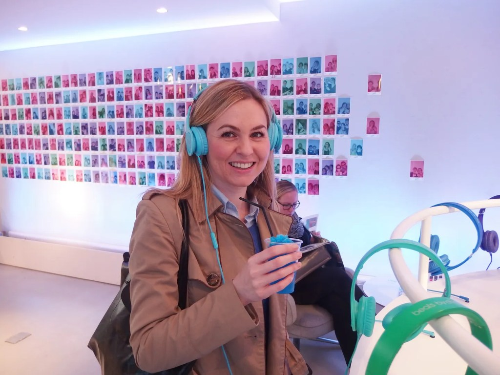 Michelle at Beats By Dre
