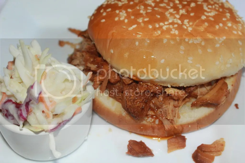 The Best Slow Cooked Pulled Pork Sandwich
