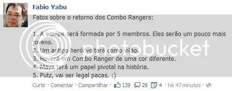 Novos Combo Rangers