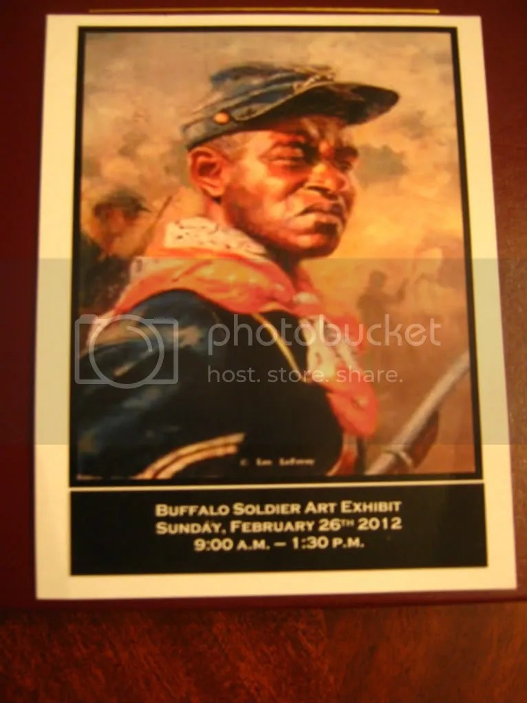 Buffalo Soldier Art