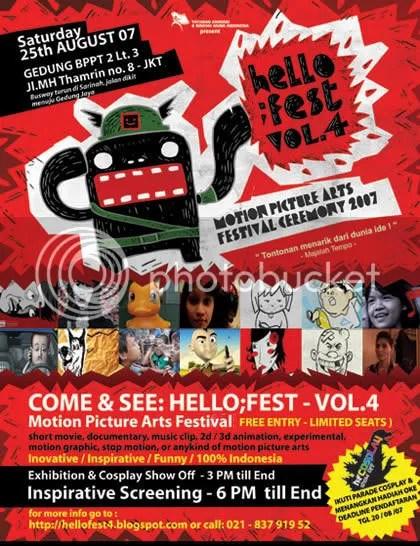 Poster Hellofest