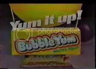 Bubble Yum Wacky Fruit