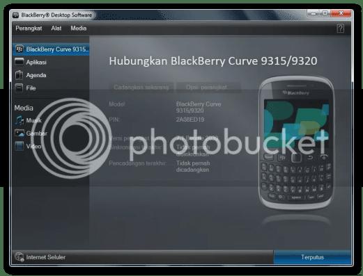 Cara Setting BlackBerry menjadi Modem untuk PC