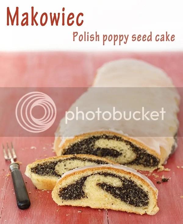 makowiec - polish poppy seed cake