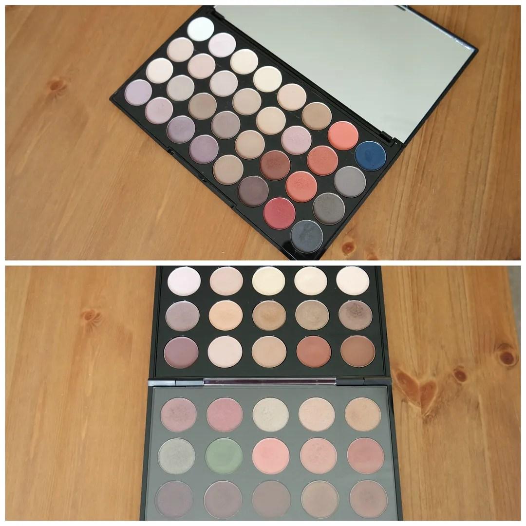 Make Up Revolution Flawless Matte 2 Updated MAC eyeshadow palette
