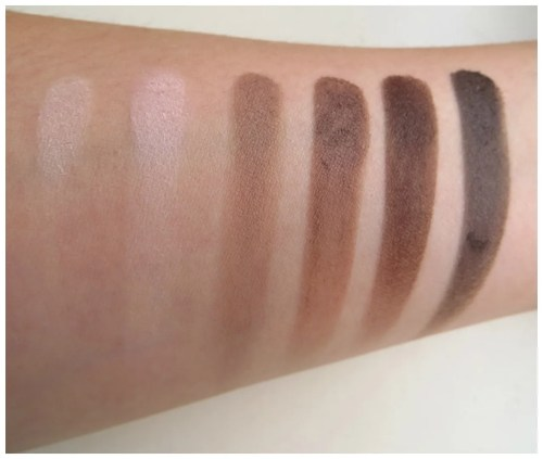 Catrice Absolute Matt eyeshadow palette review swatch