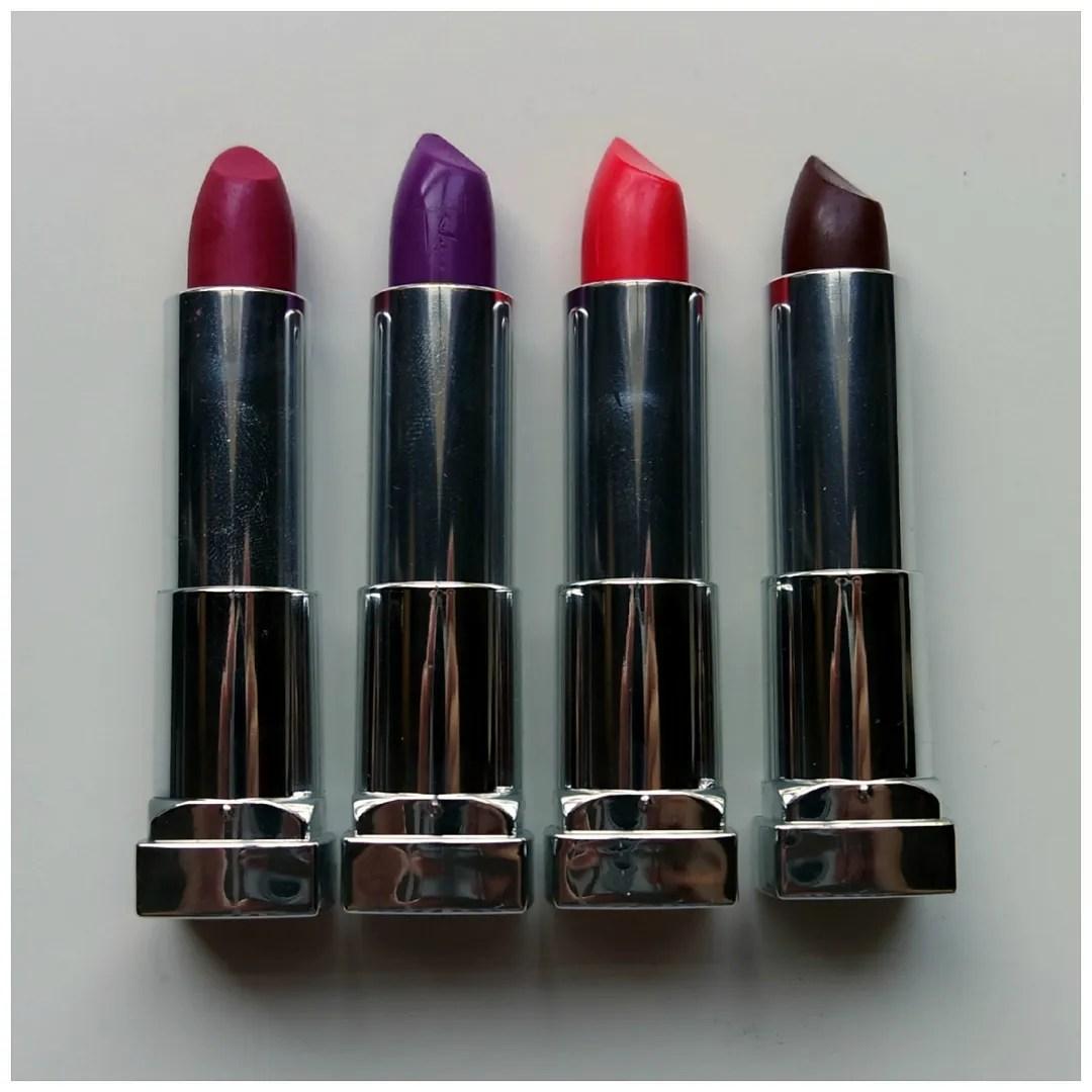 Maybelline Color Sensational matte lipsticks – Floating in dreams