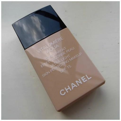 Chanel Vitalumière Aqua Ultra-Light Skin Perfecting Makeup 12 Beige Rosé review