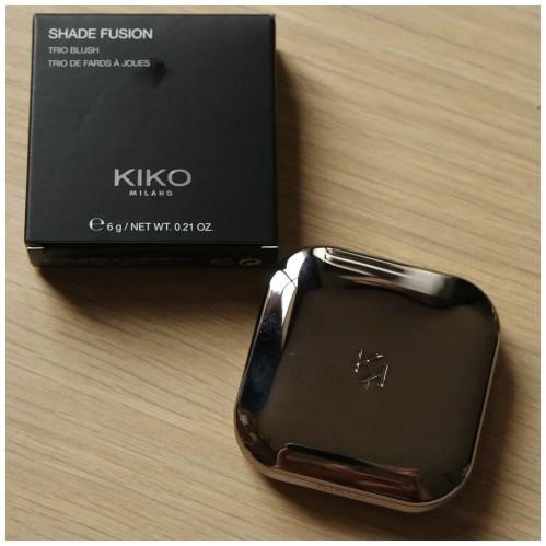 Kiko Shade Fusion Trio blush 05 review swatch