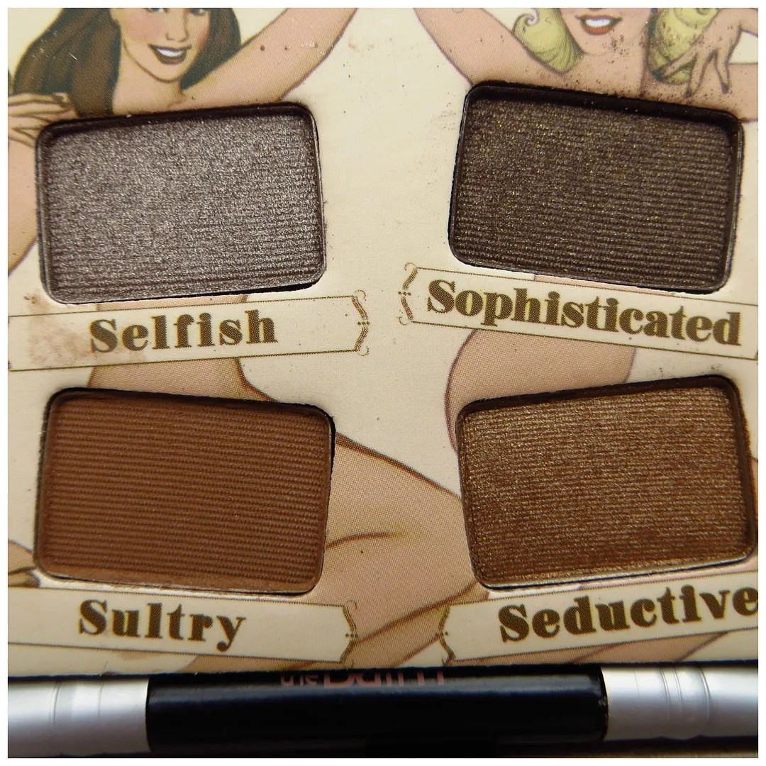the balm nude tude eyeshadow palette review swatch