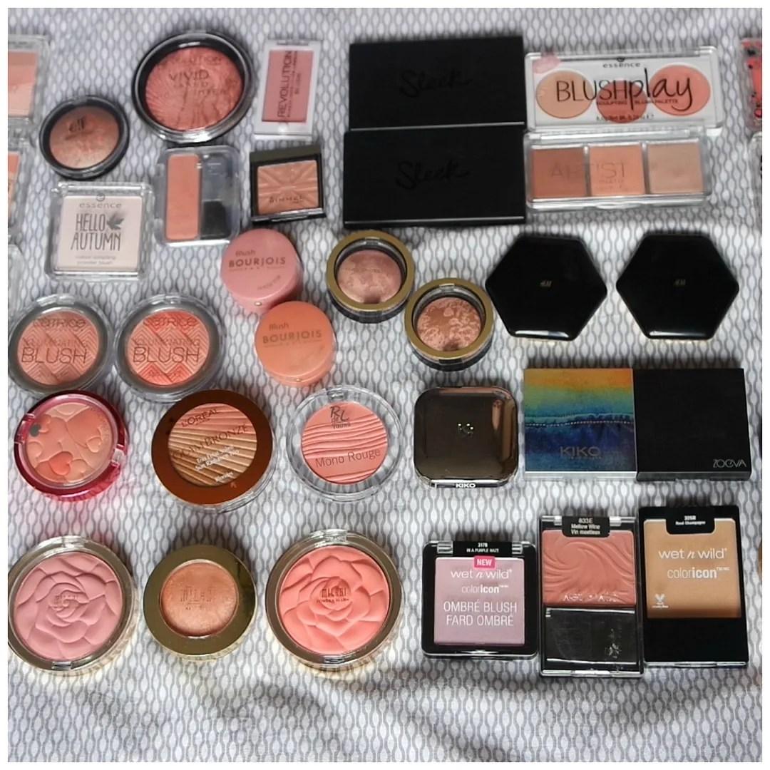 blush declutter