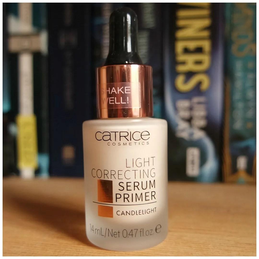 catrice light correcting serum primer review swatch