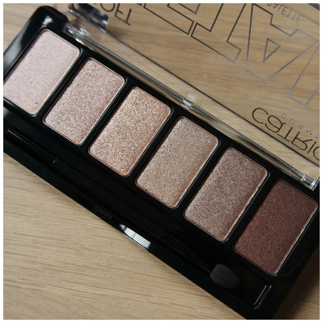Catrice Soft Metal Eyeshadow palette 010 Metal'morphosis review swatch