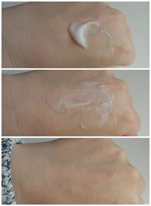 Clinique Pep-start Hydroblur Moisturizer review swatch