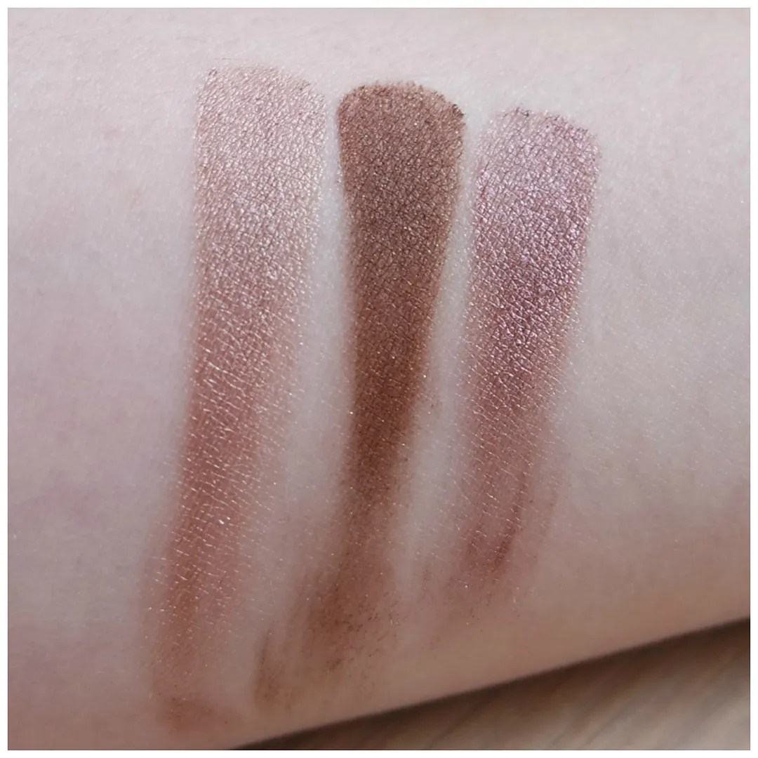 elf eyes lips face review swatch smudge pot cream eyeshadow cocoa cutie wine not cruisin' chic