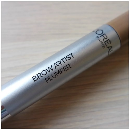 l'oreal loreal brow artist brow gel eyebrow review swatch