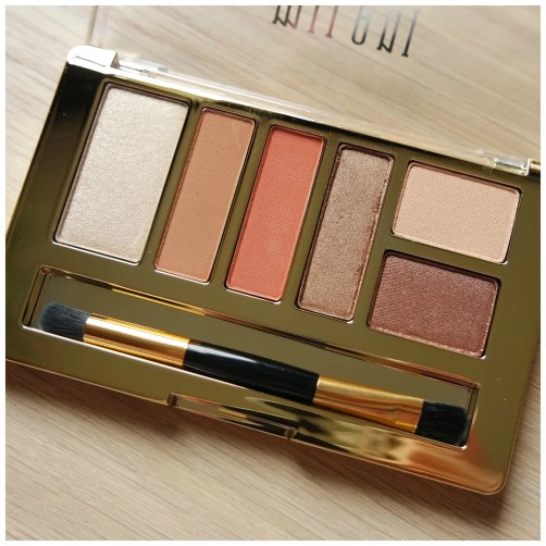 Milani Everyday Eyes Eyeshadow Collection Eartly Elements review