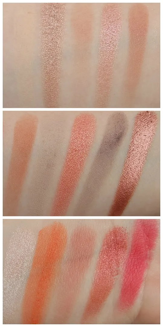 mua fire vixen eyeshadow palette review swatch