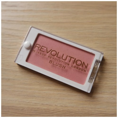 make up revolution blush now review swatch