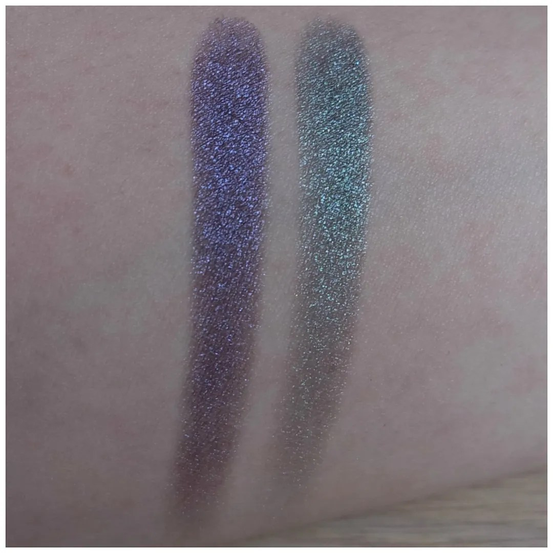 nyx prismatic eyeshadow review swatch