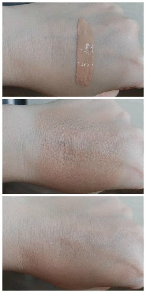rimmel lasting finish 25 hr breathable foundation 100 ivory review swatch