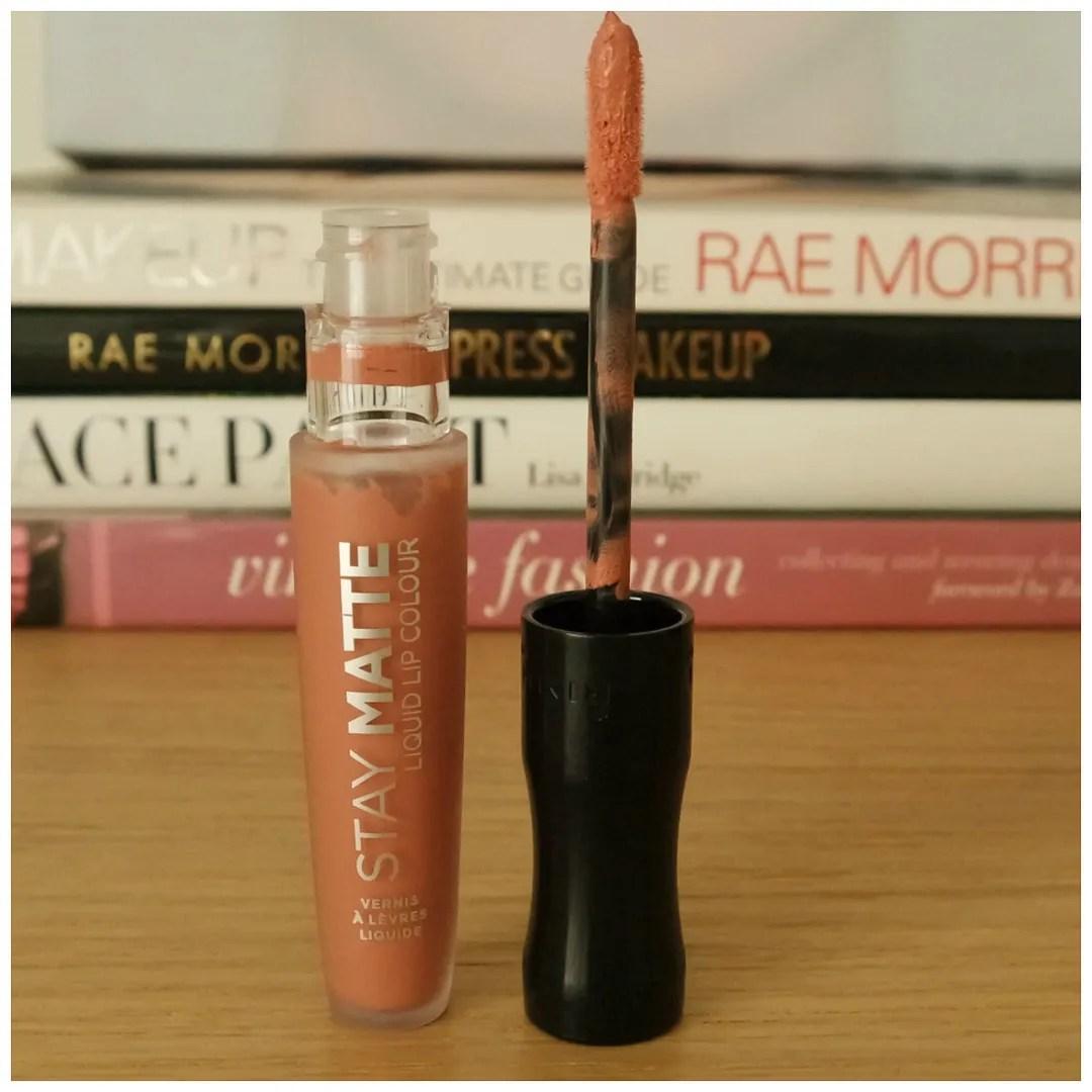 rimmel stay matte liquid lip color lipstick review swatch pink blink be my baby fire starter blue iris