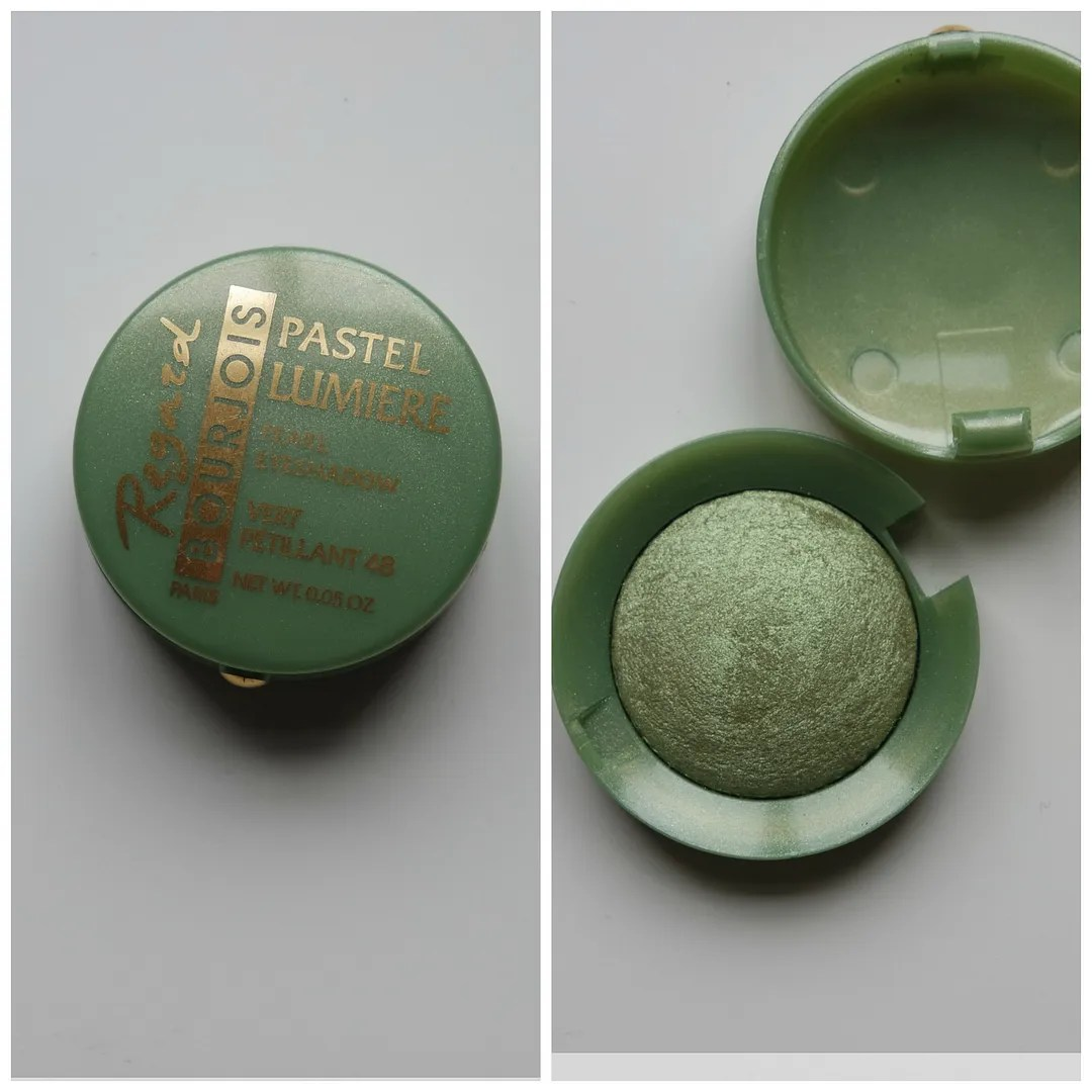 Bourjois eye shadow in 48 Vert Pétillant