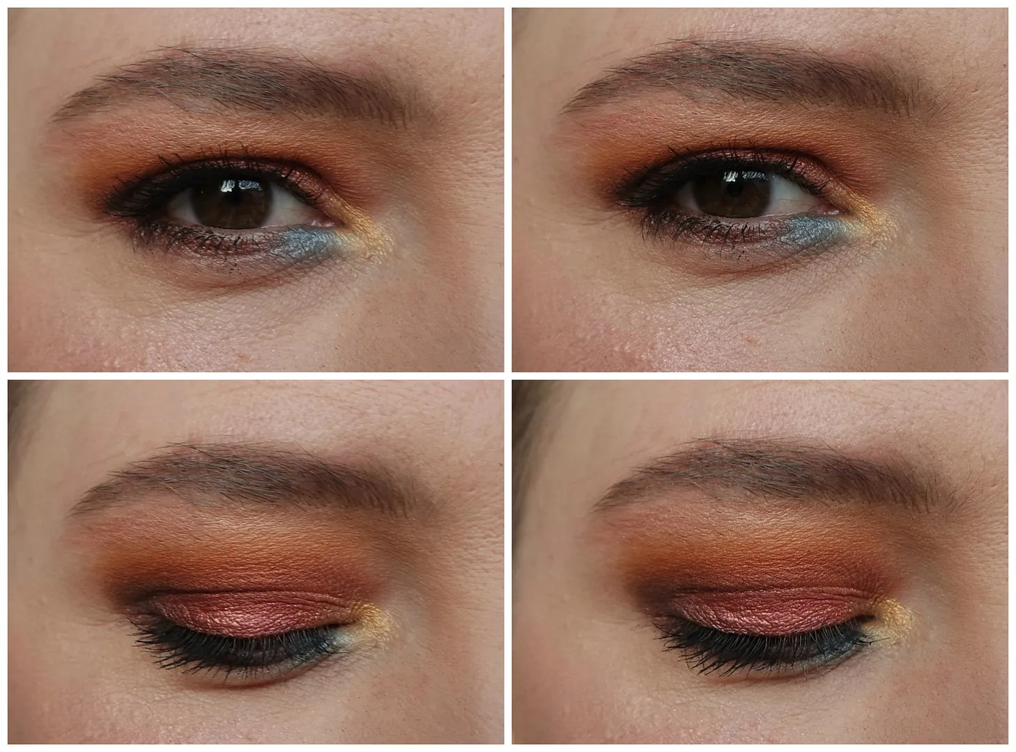 sleek I-divine eyeshadow palette sunset review swatch