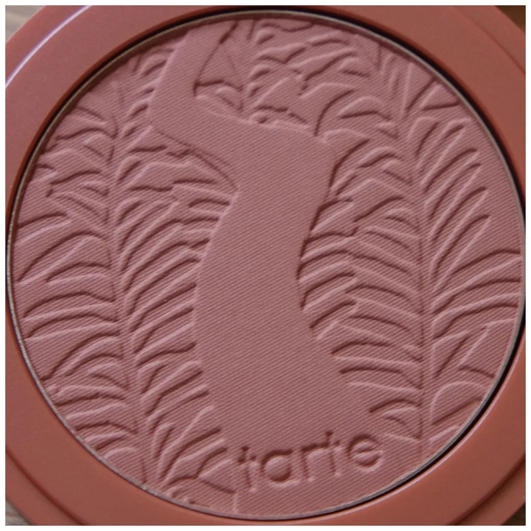 tarte amazonian clay blush review swatch seduce nude