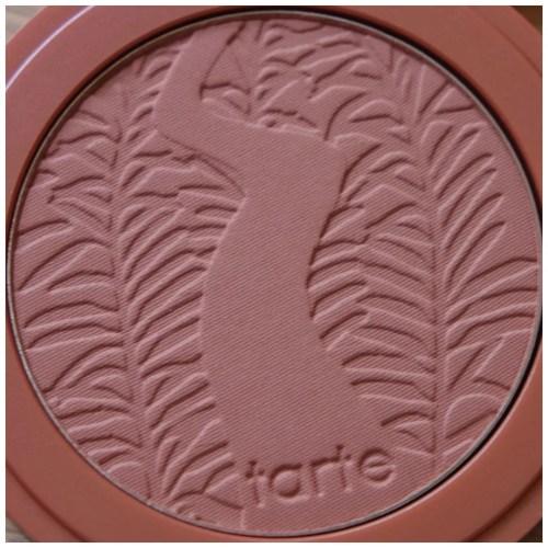 tarte amazonian clay blush review swatch seduce nude