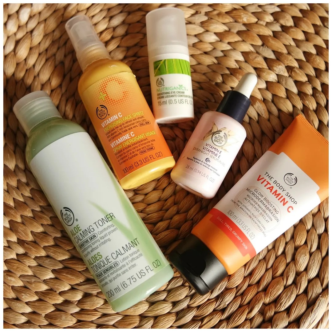 The Body Shop skincare favorites