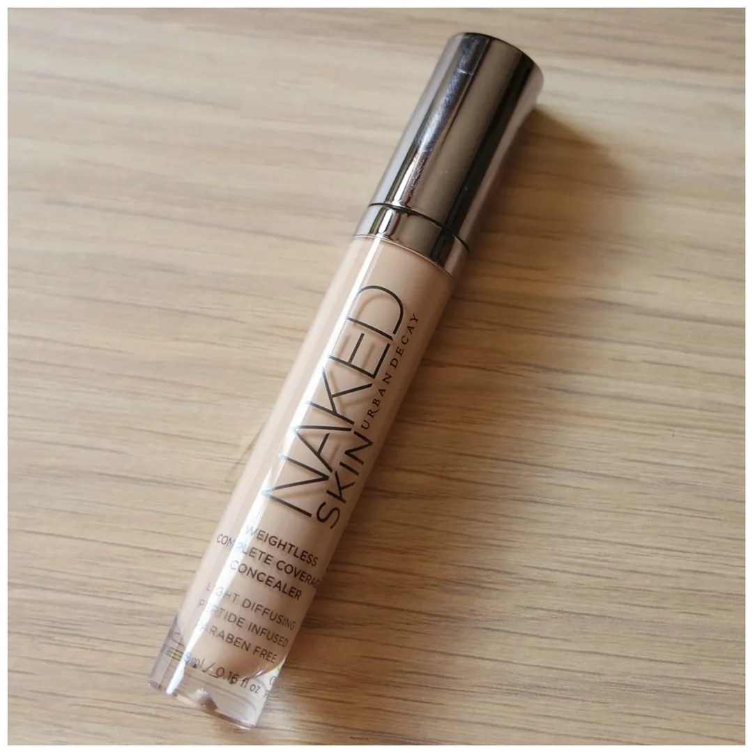 urban decay naked skin concealer review swatch light neutral