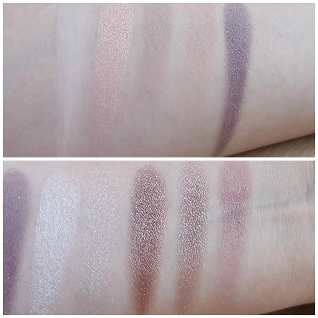 Zoeva En Taupe eyeshadow palette review swatch