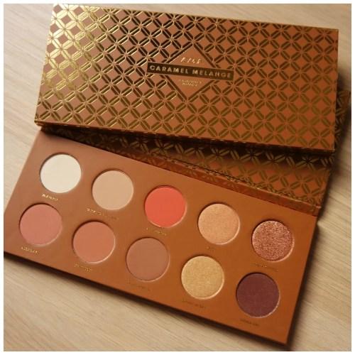 Zoeva Caramel Melange eyeshadow palette