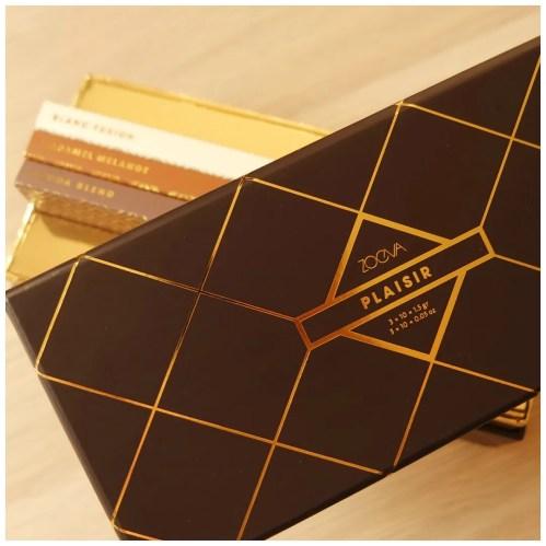 Zoeva Plaisir Box: Blanc Fusion, Caramel Melange, Cocoa Blend eyeshadow palettes
