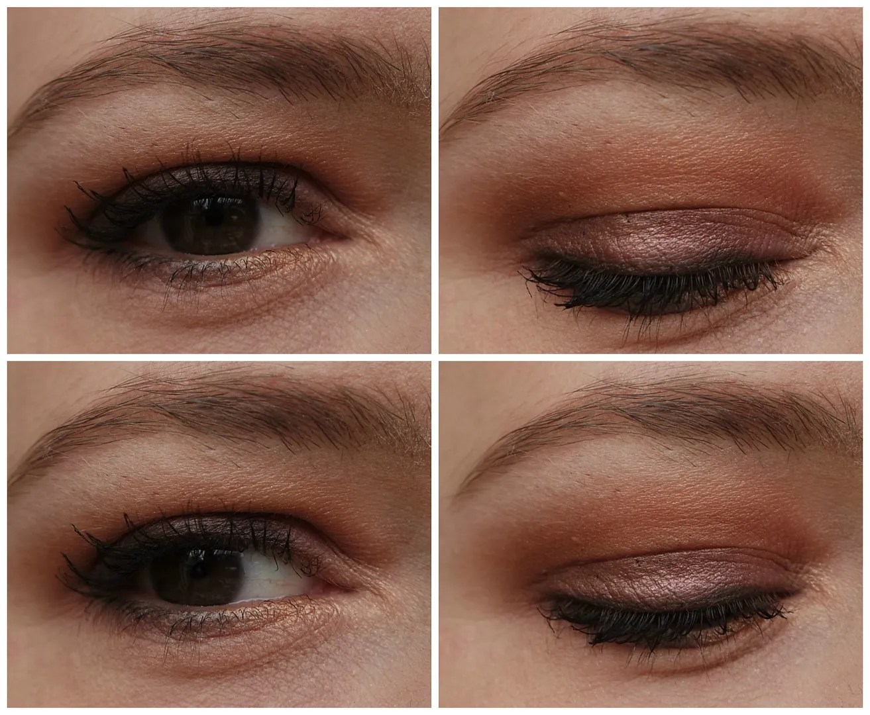 Zoeva Cocoa Blend look swatch eyeshadow palette