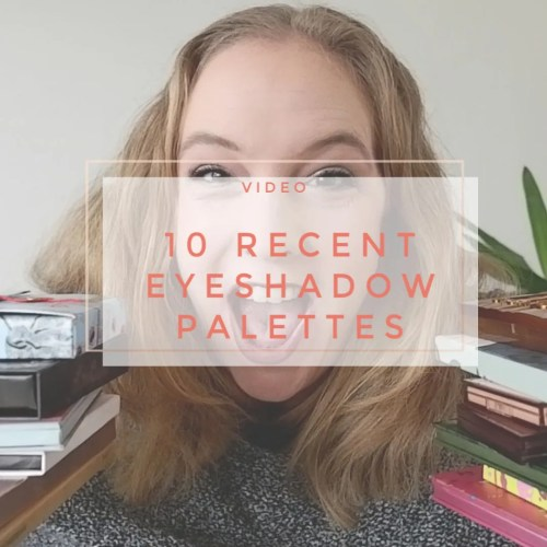10 new recent eyeshadow palette review swatch makeup look 3 looks 1 palette