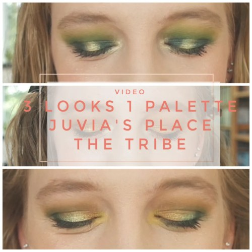 3 looks 1 palette juvia's place the tribe palette makeup looks review techniques eyeshadow application