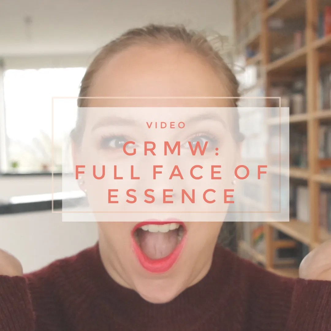 4a7598e5768b3 GRWM  Full face of Essence   2019 Youtube plans – Floating in Dreams