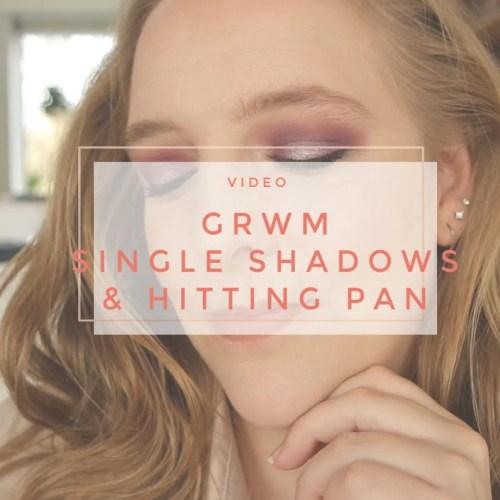 get ready with me single eyeshadow panning hitting pan nabla coloured raine sidney grace indie makeup
