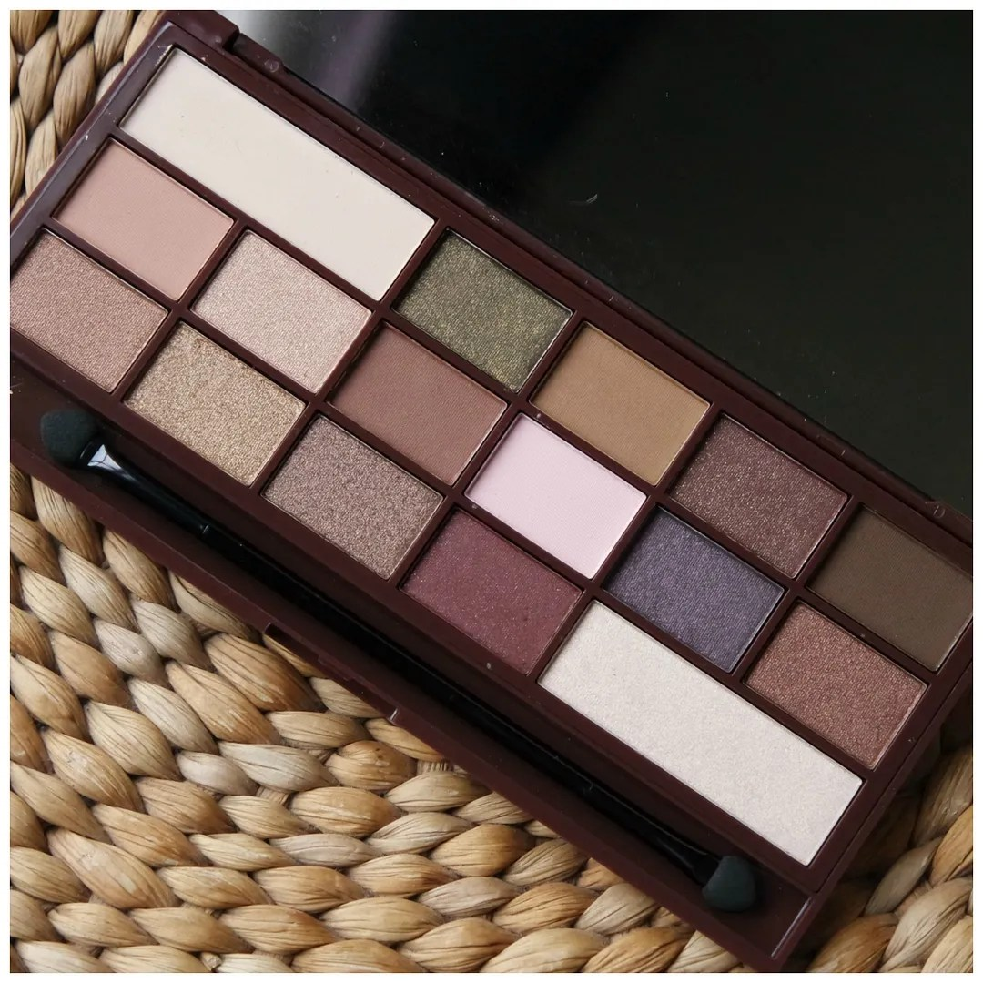I heart makeup I heart chocolate chocolate bar eyeshadow palette review swatch