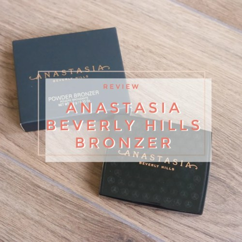 anastasia beverly hills bronzer rosewood review swatch