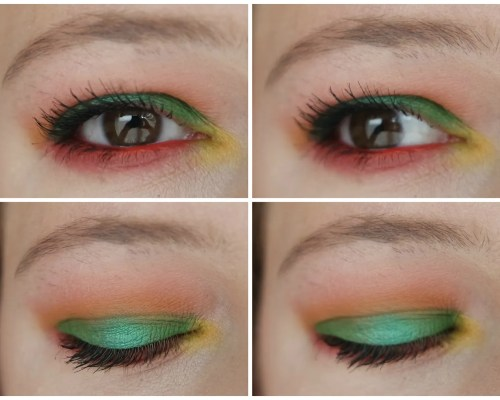 ace beauté slice of paradise eyeshadow palette review swatch