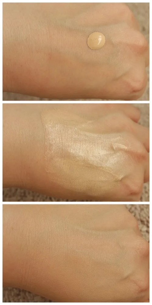bourjois healthy mix bb cream 01 light review swatch application coverage