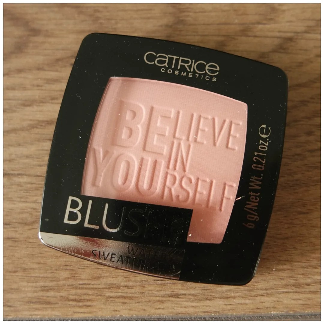 catrice blushbox soft rose blush review matt matte swatch
