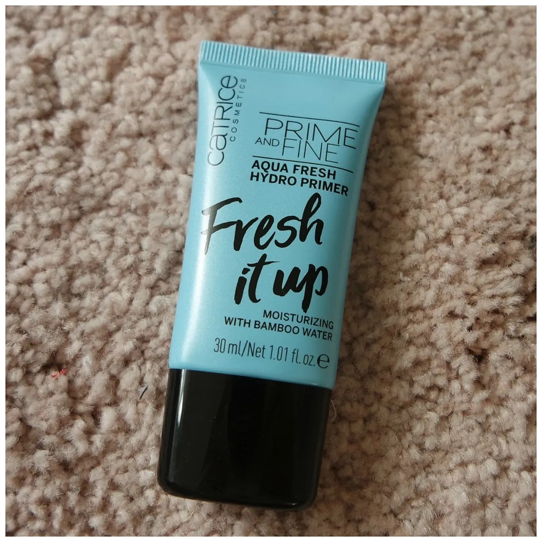 catrice fresh it up aqua fresh hydro primer review swatch
