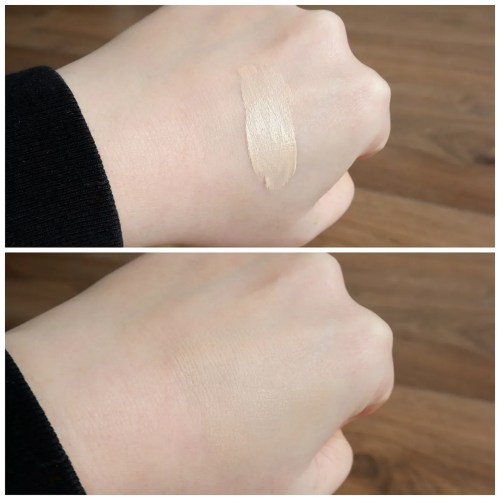 catrice instant awake concealer 005 neutral light review swatch makeup look application fair dry skin