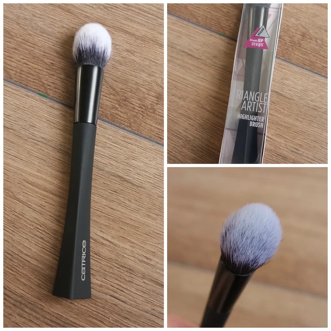catrice makeup tools brush sponge brush cleanser pot review highlighter concealer