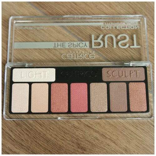 catrice the spicy rust collection eyeshadow palette review swatch makeup look application 010 What Chai Sayin'?
