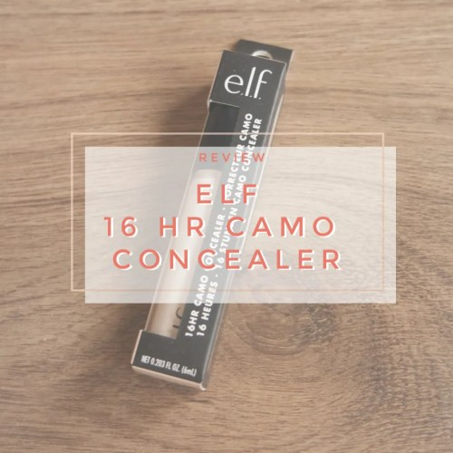elf 16 hr camo concealer fair beige fair skin dry dehydrated review swatch application makeup look
